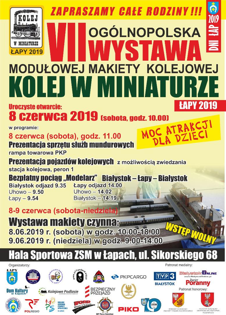 łapy Vii Ogólnopolska Wystawa Modułowej Makiety Kolejowej